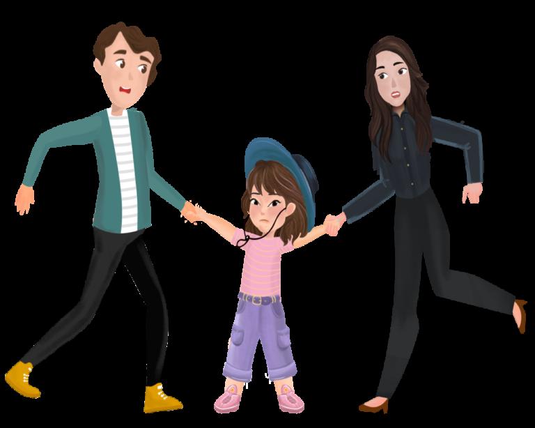 Принуждение ребенка выбирать или любить одного родителя над другим