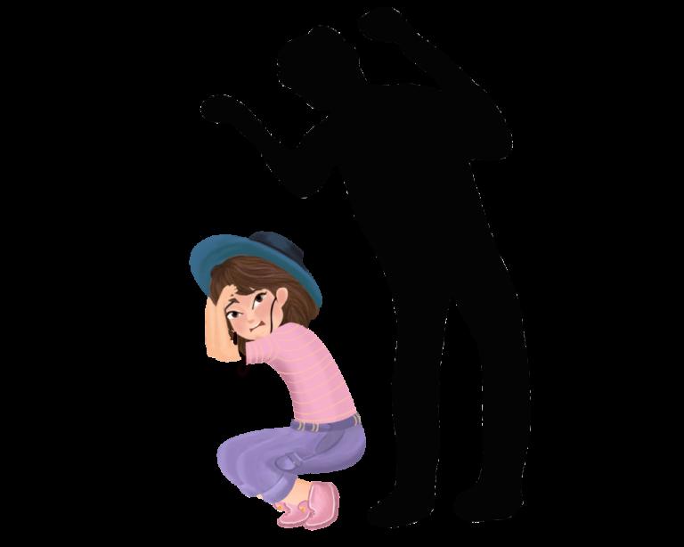 Заставить другого родителя выглядеть пугающе или заставить ребенка бояться другого родителя.